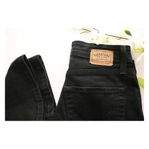 Levi's Strauss Signature Bootcut Black Jeans